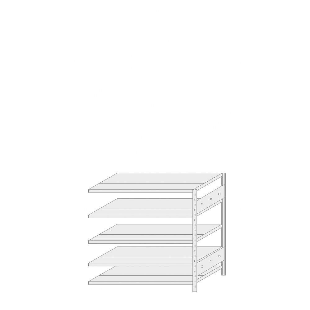 ERREX® Regal - ERREX® Anbauregal Höhe 1000 mm