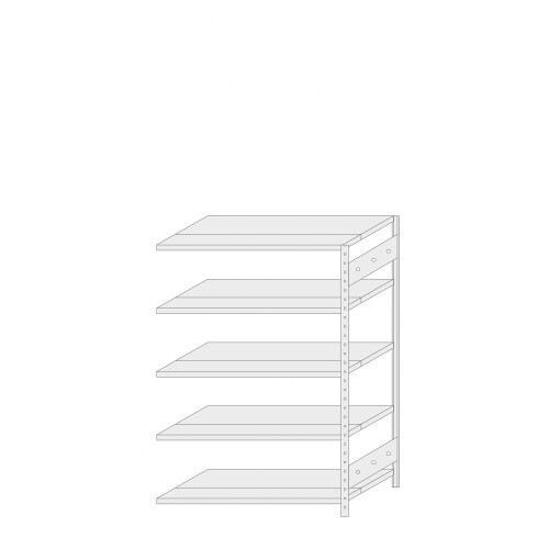 ERREX® Regal - ERREX® Anbauregal Höhe 1500 mm